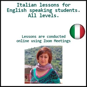 Italian lessons for English speaking students - All Levels