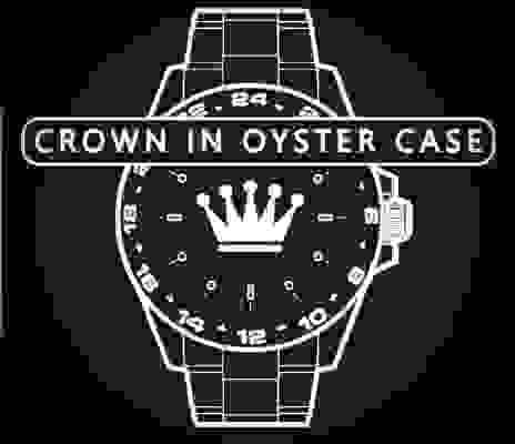 Crown In Oyster Case
