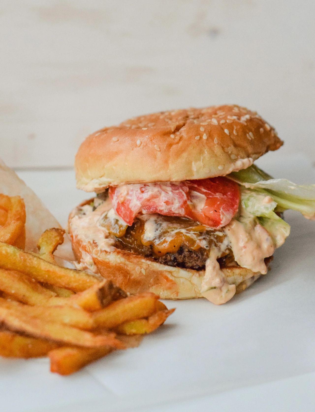 Burger from Farm Burger