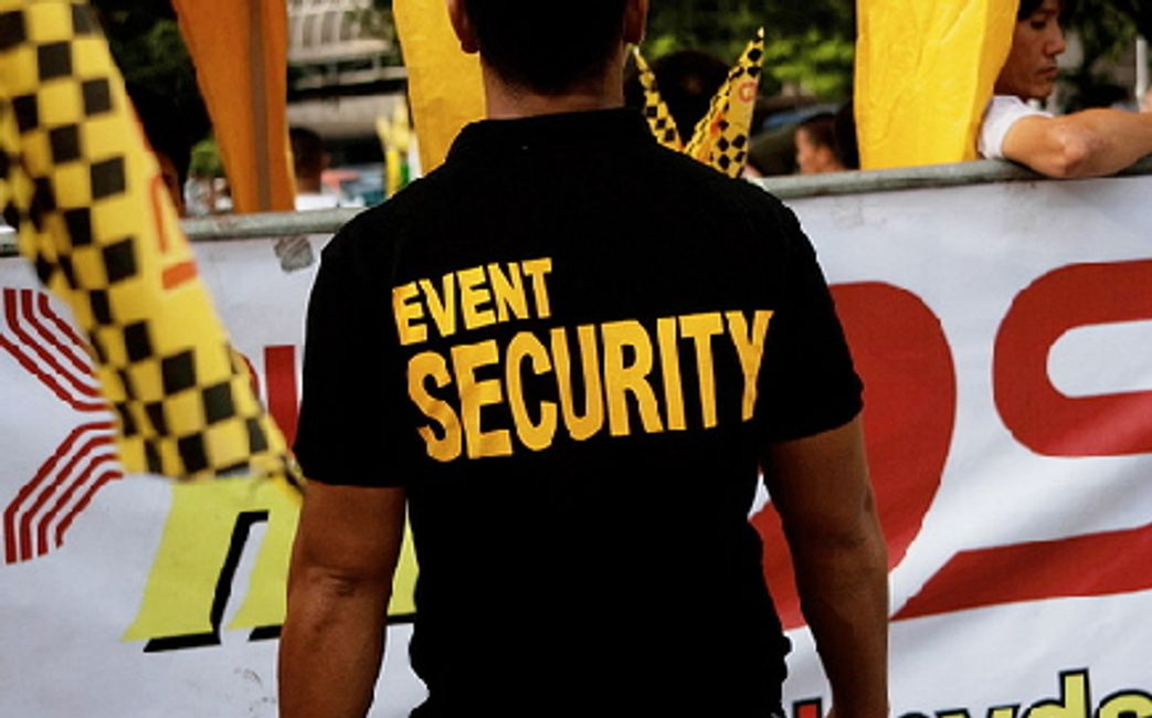 Special event security and  concierge services