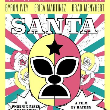 Santa, Latina Superhero, graphic novel, comic book, Chicana super hero
