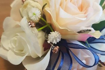 Corsage and  Boutonniere. Winter Formal Flowers. Prom Flowers. Formal Flowers in Huntington Beach 2