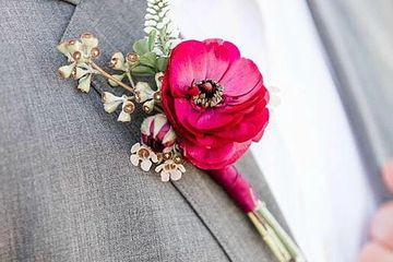 Homecoming Boutonniere, Winter Formal Boutonniere, Prom Boutonniere,  Boutonniere Huntington Beach