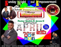Save The Date- Sunday Night April 7th 2019 @ 7:30 PM for Soul Empowerment with  Host Deacon - Elect