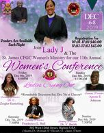 Its about that time again for our 11th Annual Women's Conference. Lets start Registering.