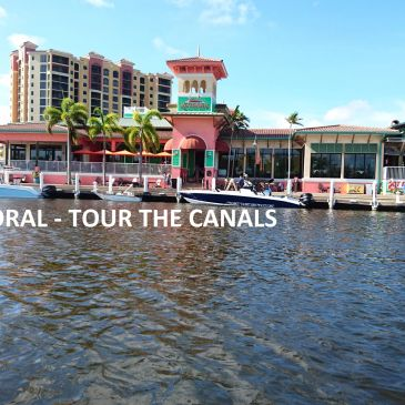 Let us take you on a short boat ride through the canals of Cape Coral