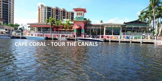 Let me take you on a short boat ride through the canals of Cape Coral
