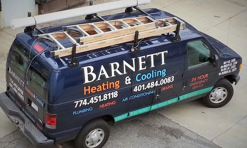Barnett HVAC Work Van