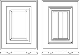 painted doors, routed doors, MDF doors, CNC programming, raw doors, ready to paint, kitchen, modern