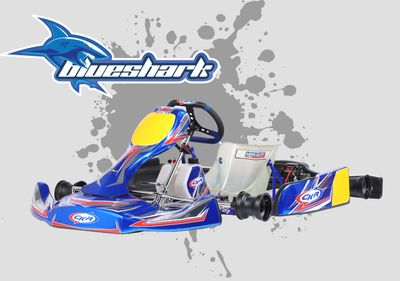 CKR Blue Shark 30 CHASSIS tAG iame x30