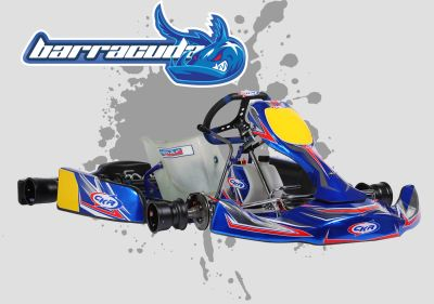 CKR Barracuda 32 Chassis - Shifter Kart KZ