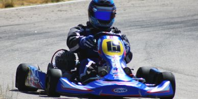 CKR Stingray 100cc Option race ready packages Driver Official Racing CKR USA of Meridian Idaho kart