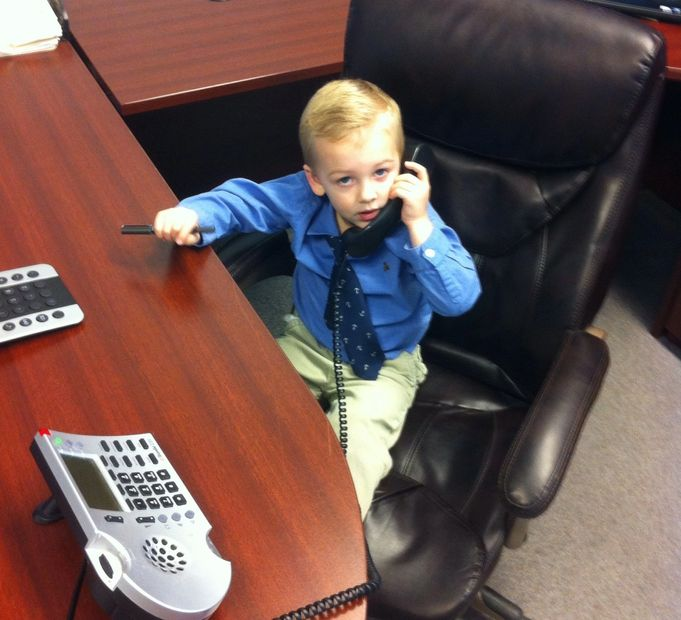 Our future insurance broker!