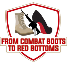 Combat Boots 2 Red Bottoms