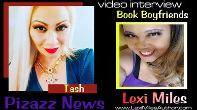 Lexi Miles Author is interviewed by Pizazz News