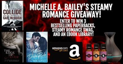 Ebook Library, Paperbacks, Steamy Romance Swag, Gift Cards, and MORE!