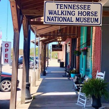 historic Wartrace tn railroad walking horse museum smalltown local business antiques decor gifts