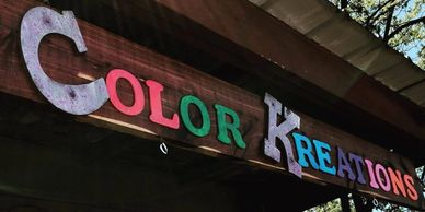 Color kreations Tn gift workshops classes arts crafts handmade homemade jewelry decor Wartrace paint