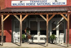 Wartrace TN tennessee walking horse cradle national museum show history world famous tradition