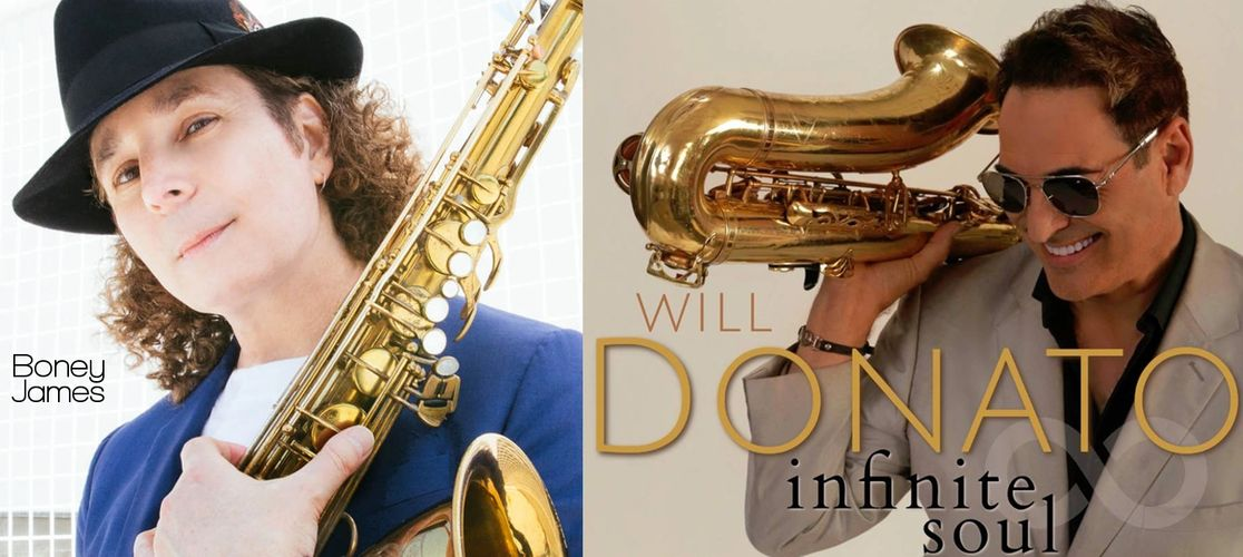 Boney James and Will Donato play Westcoast Sax MOAM Saxophone Mouthpieces