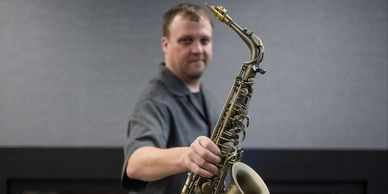David Maki II Saxophone Player, plays Westcoast Sax Saxophone Mouthpieces