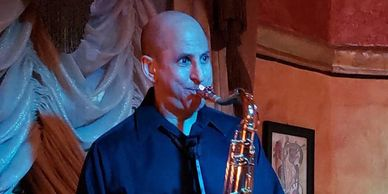 John Grande plays Westcoast Sax Mouthpiece