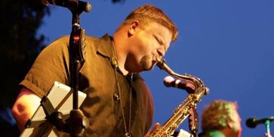 Scott Murdock Saxophone Player, plays Westcoast Sax Saxophone Mouthpieces
