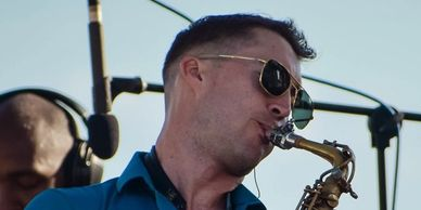 Chris Godber plays Westcoast Sax High Roller Mouthpiece