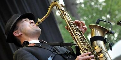 Justin Chin Saxophone Player, plays Westcoast Sax Saxophone Mouthpieces