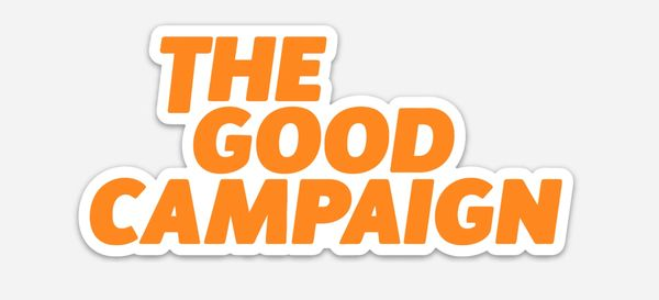The Good Campaign Sticker Kindness