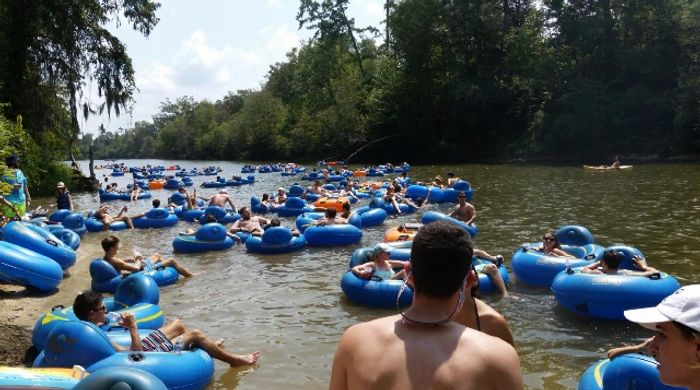 Grab your tank tops & flip flops for a full day of fun in the sun tubing down the Bogue Chitto River