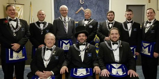 Genoa Masonic Lodge #433 2018 Lodge Officers