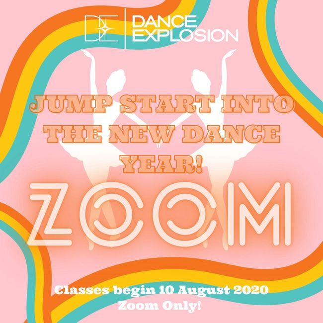 Dance Explosion Dance Studio Zoom/Virtual classes for all ages in all dance styles