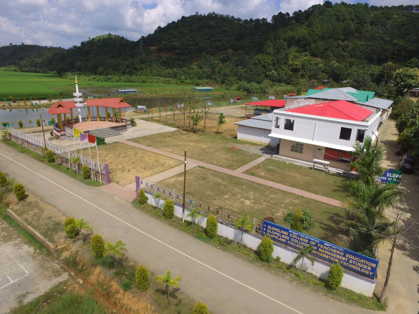 View of College Block.