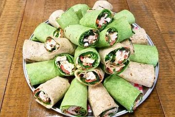 Let your imagination create the perfect wrap for you!  Multiple wrap types & cold cuts available!