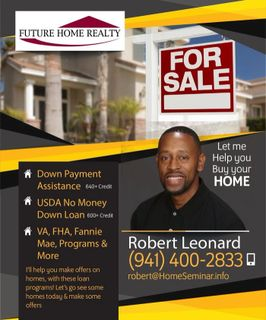 Robert Leonard,  Future Home Realty