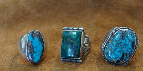 Native American Silver & Turquoise Jewelry
