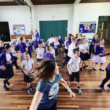 Dance Literacy at Tadcaster Primary. Paul Hamlyn Foundation