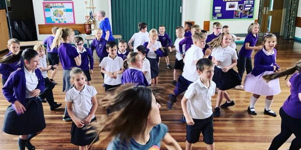 Tadcaster Primary during delivery of 'Choreographers of Learning'