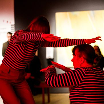 Community dance project at York Art Gallery. Photo: Matthew Joplin