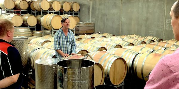 Pimpernel, barrel hall, premium experience, boutique, wine maker, Yarra Valley, wine tour