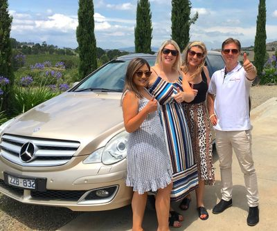 Mercedes Benz R500, Yarra Valley, wine tour, boutique wine