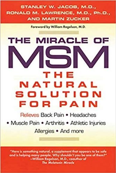 MSM - Natural Pain Relief