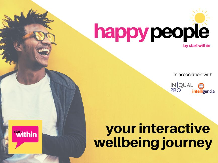 happy people by start within, your interactive wellbeing journey