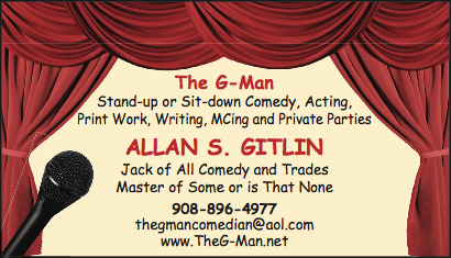 •Allan Gitlin •The G-Man • Podcast Extra-Extraordinaire