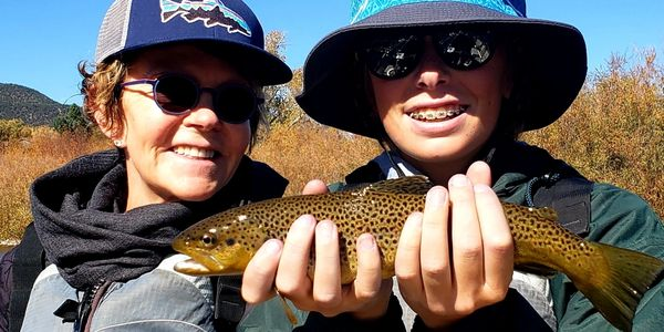 Friendly family fly fishing guide. Aspen, Colorado