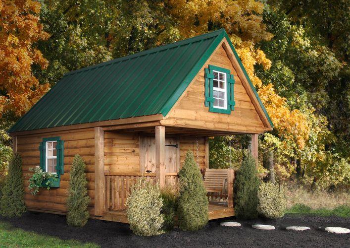 Log Cabin Kids Play House Needabarn
