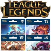 League of Legends Prepaid Game Cards - NA Server