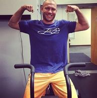 UFC Fighter Donald 'Cowboy' Cerrone sportin' his LAKE30 shirt during his work out! Thanks Cowboy!