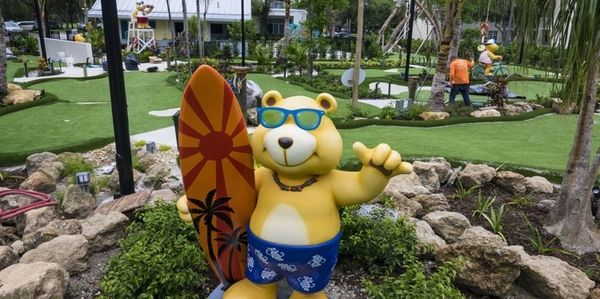 Golden cub mini-golf, home of the THBA Open